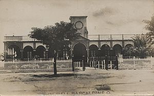 Barcaldine, Queensland - Shire Hall at Barcaldine, circa 1920