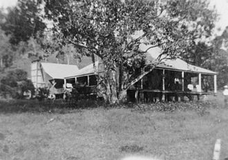 Beaudesert, Queensland - A homestead in the 1890s