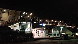 Den Haag Laan van NOI railway station railway station in The Hague