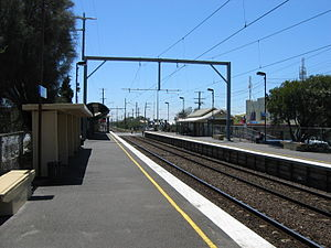 Chelsea railway station, Melbourne - Image: Station chelsea 1