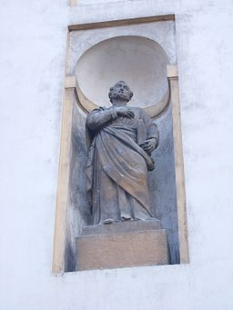Statue of Saint Paul on Duchcov Castle