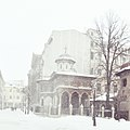 Stavropoleos Monastery in winter.jpg