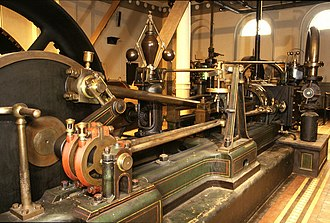 Tower brewery - 1884 engine from Greenall Whitley Brewery, Warrington
