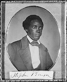 Stephen Allen Benson, Presidente della Liberia, dal 1856 al 1864.