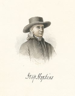 Stephen Hopkins (politician) American judge
