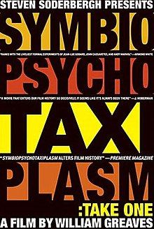 Stephen Soderbergh Presents Symbiopsychotaxiplasm Take One (2005 poster).jpg