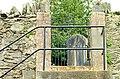 Steps and gate, St Patrick's, Drumbeg - geograph.org.uk - 1199237.jpg