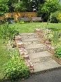 Steps up to the churchyard at St Wilfrid's, Cowplain - geograph.org.uk - 1307949.jpg