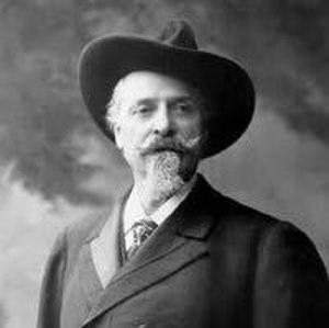 John Batterson Stetson - Image: Stetson in hat