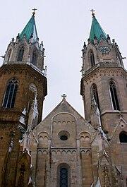 Stift Klosterneuburg frontal view