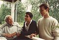 Stig Stefanson, Kris Stefanson & Hans Stefanson 1991.jpg