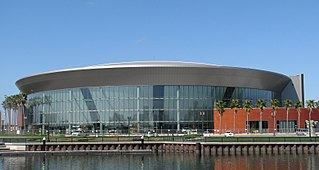 Stockton Arena architectural structure