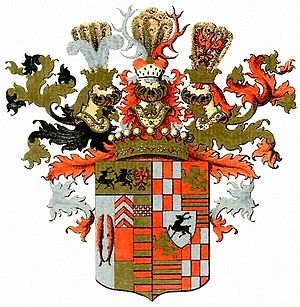 House of Stolberg - Overall coat of arms of the House of Stolberg from 1742
