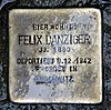Stolperstein Bölschestr 105 (Frihg) Felix Danziger.jpg
