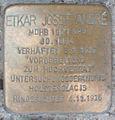 Stolperstein Rathausmarkt 1 (Etkar Josef André) in Hamburg-Altstadt.JPG