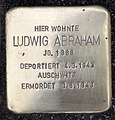Stolperstein Schöneberger Str 15 (Stegl) Ludwig Abraham.jpg