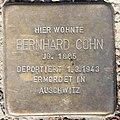Stolperstein Stierstr 20 (Fried) Bernhard Cohn.jpg