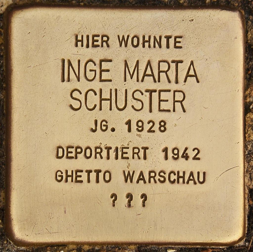 Stolperstein für Inge Marta Schuster (Bernau).jpg