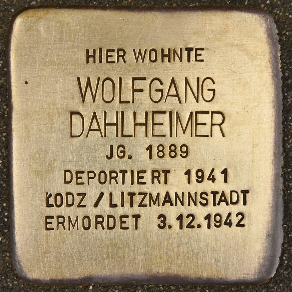 Stolperstein für Wolfgang Dahlheimer (Miltenberg).jpg