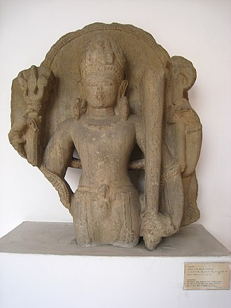 Lakulisha - Statue of Lakulisha, Pratihara, 9th century CE.