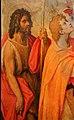 Stradano, madonna della cintola tra i ss. giovanni battista e nicola di bari, 1590 (montemurlo, san giovanni) 02.jpg