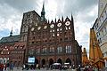 Stralsund, Alter Markt, Rathaus und St. Nikolai (2012-06-03), by Klugschnacker in Wikipedia.jpg