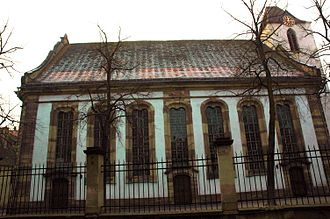 Protestant Church of Augsburg Confession of Alsace and Lorraine - St. Aurelia Church in Strasbourg