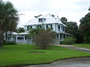 National Register of Historic Places listings in Martin County, Florida - Image: Stuart FL Burn Brae House 01