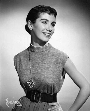 Maggie McNamara - Studio Publicity Photo, 1953.