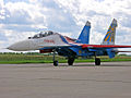"Su-27UB Aerobatic team ""Russian Knights"" (4257745528).jpg"