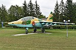 Sukhoi Su-25UB '05 red' (37300619830).jpg