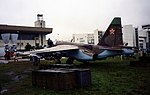 Sukhoi Su-25 Sukhoi T-8-15 (Su-25 prototype) Khodinka Air Force Museum Sep93 3 (16531412133).jpg