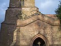 Sundial on Broadheath Church Porch - geograph.org.uk - 77460.jpg