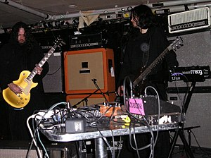 Drone metal - Sunn O))) at The Middle East in 2006