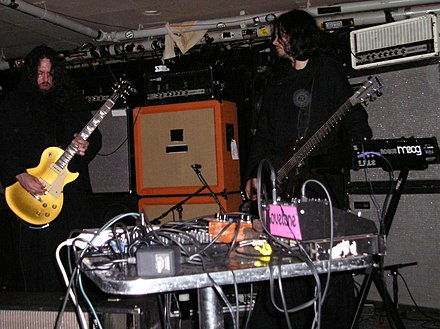 Sunn O))) at The Middle East in 2006 Sunn2.jpg
