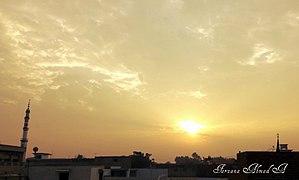 Muzaffargarh District - Sunrise in Muzaffargarh