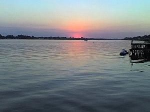 False River (Louisiana) - Image: Sunset 3
