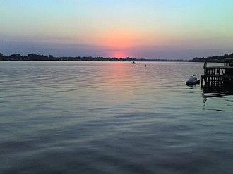 False River (Louisiana) - Sunset on False River
