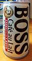 Suntory Boss Cafe au Lait canned coffee.jpg