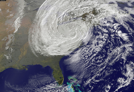 Superstorm Sandy on 10-30-2012