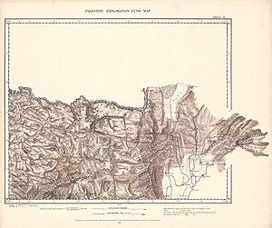 Deir Mimas - Image: Survey of Western Palestine 1880.02