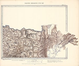 Deyrintar - Image: Survey of Western Palestine 1880.02