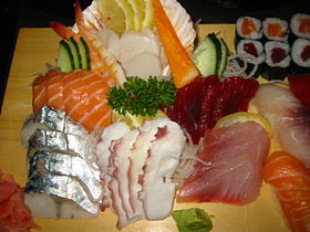 image illustrative de l'article Sashimi