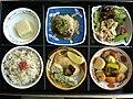 Sushi dishes, Japan 2005.jpg