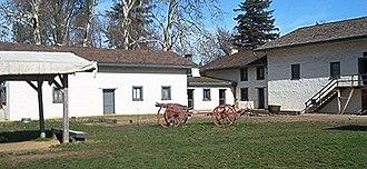 John Augustus Sutter Jr. - Sutter's Fort in Sacramento, California