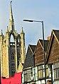 Sutton, Surrey London Sutton High Street -historic crossroads.JPG