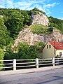 Svatý Jan pod Skalou, z mostu k jihu.jpg