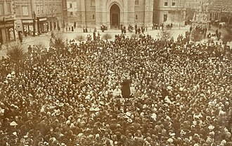 Svetozar Miletić - Funeral of Miletić