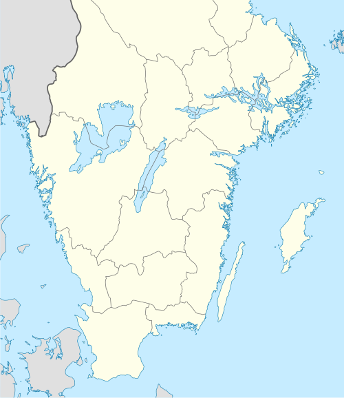 Allsvenskan is located in Sweden, 40south