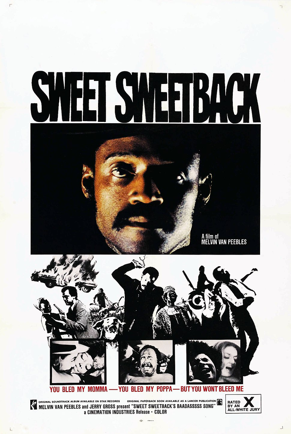 Sweet sweetback poster